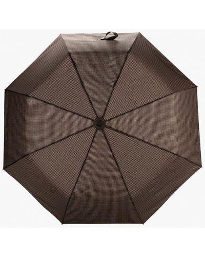 Коричневый зонт Eleganzza