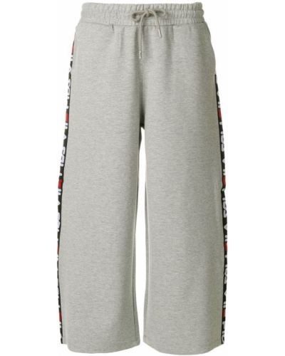 Серые спортивные брюки Fila