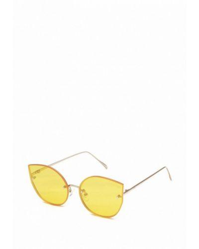 Желтые солнцезащитные очки Luckylook