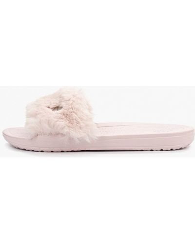 Сабо розовый пляжные Crocs