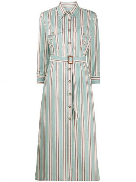 Платье миди с поясом Evi Grintela
