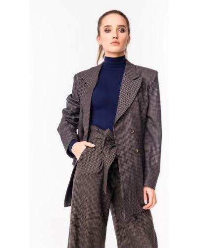 Пиджак оверсайз - коричневый Alito