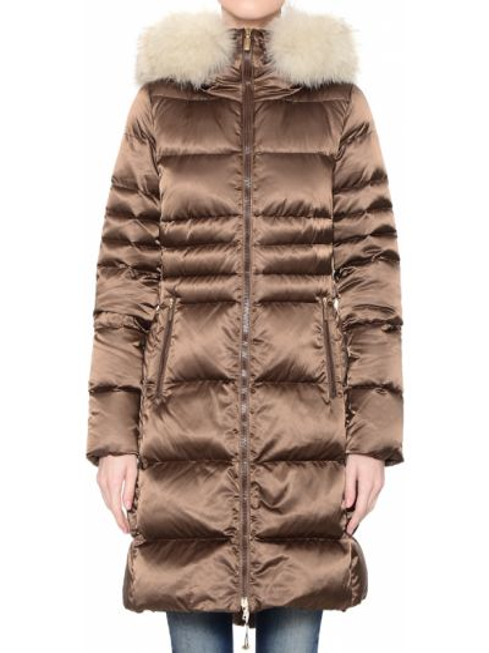 Коричневая куртка Geospirit
