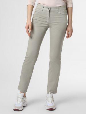 Zielone spodnie Zerres