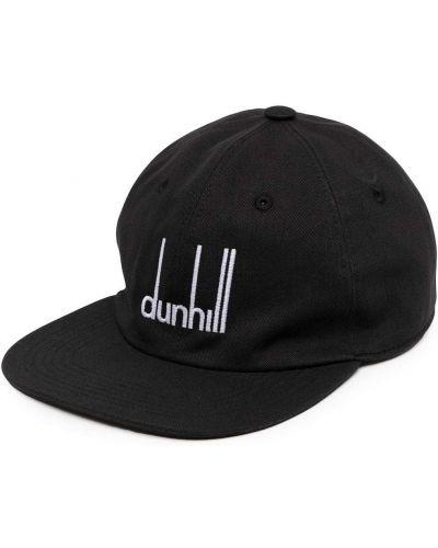Czarna czapka z daszkiem Dunhill