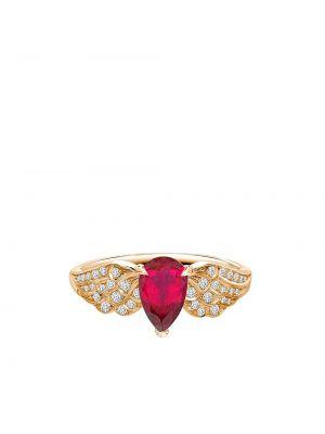 Z rombem tiara z diamentem złoto Pragnell