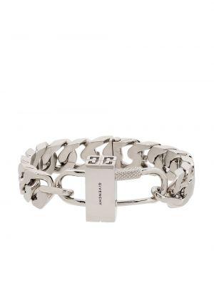 Bransoletka srebrna Givenchy
