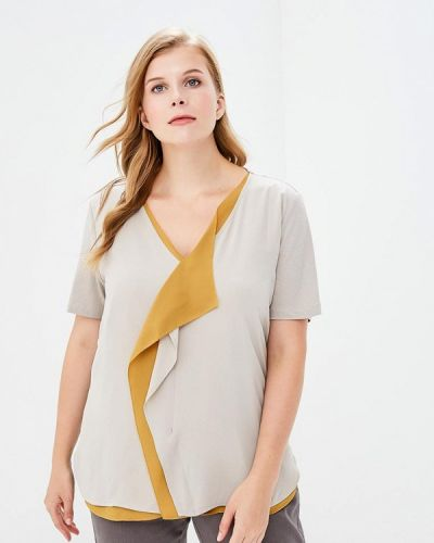 Бежевая блузка Samoon By Gerry Weber