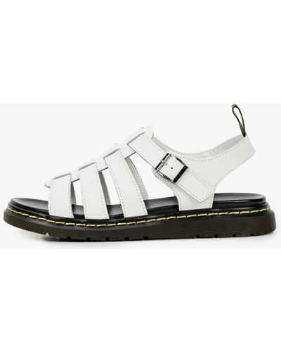 Белые кожаные сандалии Helena Berger