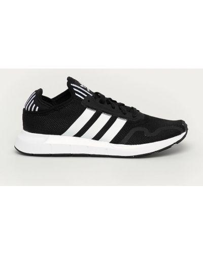 Ażurowe czarne sneakersy sznurowane Adidas Originals