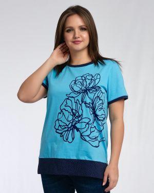 Джемпер с цветочным принтом однотонный одевайте