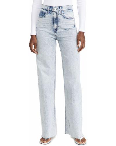 Джинсовые широкие джинсы Joe's Jeans