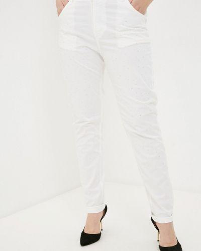 Белые зауженные брюки Sophia