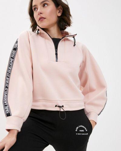 Толстовка розовый Karl Lagerfeld