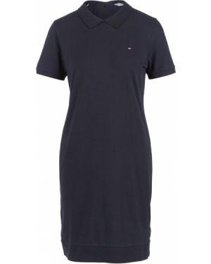 Платье мини футболка синее Tommy Hilfiger