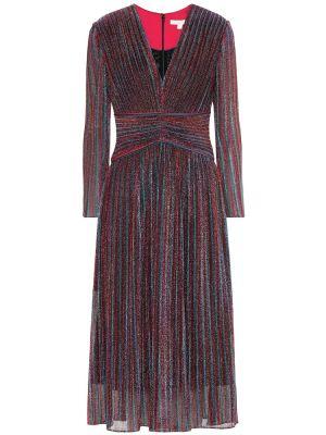 Платье миди в полоску с завышенной талией Jonathan Simkhai