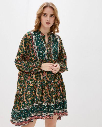 Разноцветное платье Tantra