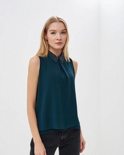 Блузка без рукавов зеленый Piazza Italia