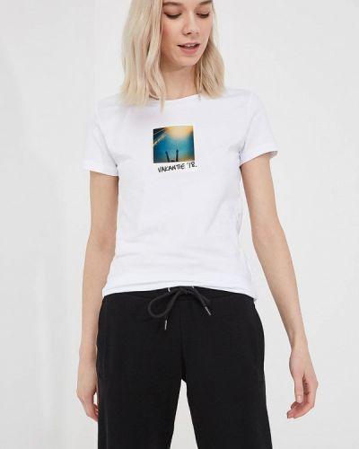 Белая футболка Bikkembergs