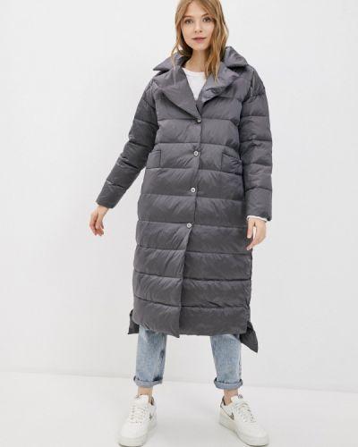 Утепленная серая куртка Lanicka