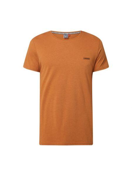 Brązowa t-shirt bawełniana Ragwear