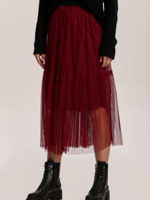 Ciepła spódnica materiałowa Renee