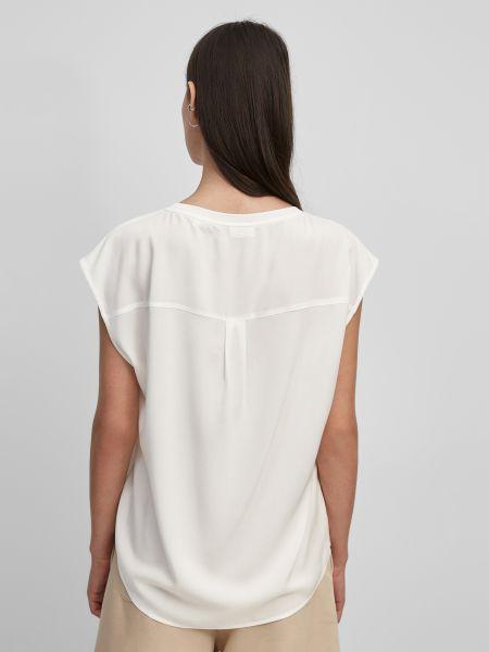 Белая прямая футболка Marc O'polo Denim