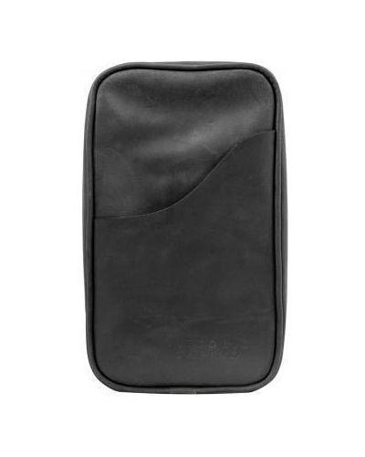 Кожаная сумка через плечо - черная Vittorio Safino