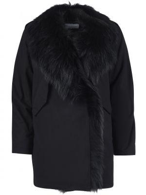 Нейлоновая черная куртка Forte Couture