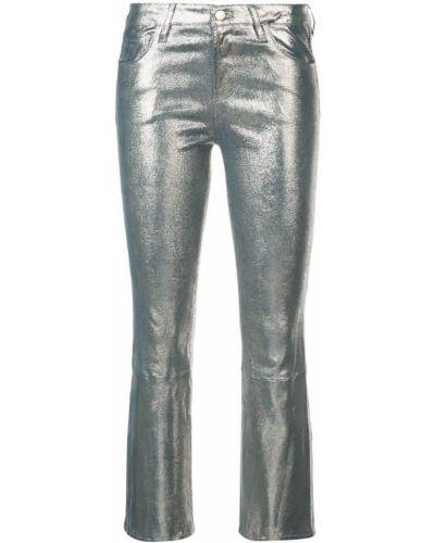 Укороченные джинсы с карманами с поясом J Brand