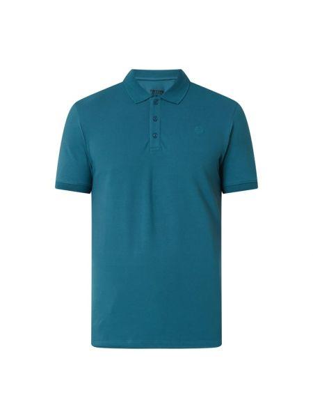Niebieski t-shirt bawełniany Raizzed