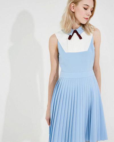 Голубое платье весеннее Ted Baker London