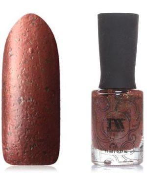 Коричневый лак для ногтей Masura