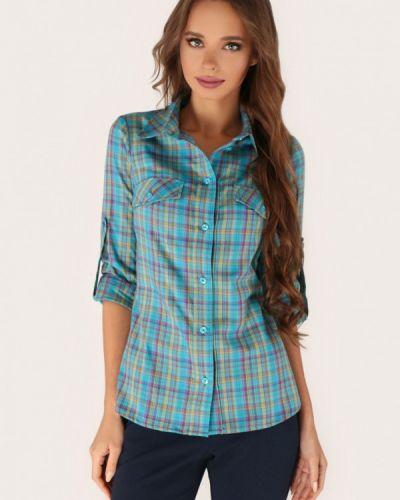 Рубашка с длинным рукавом бирюзовый Anushka By Anna Pavlova