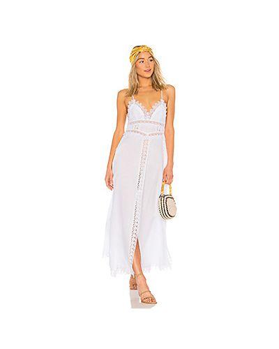 Платье макси с разрезами по бокам на молнии Charo Ruiz Ibiza