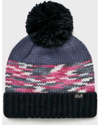 Зимняя шапка с помпоном с отворотом Jack Wolfskin
