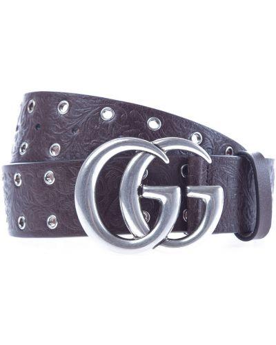 Ремень с пряжкой металлический Gucci