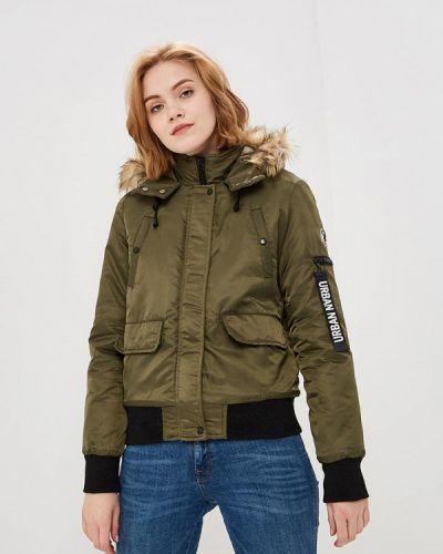 Утепленная куртка - зеленая Jennyfer