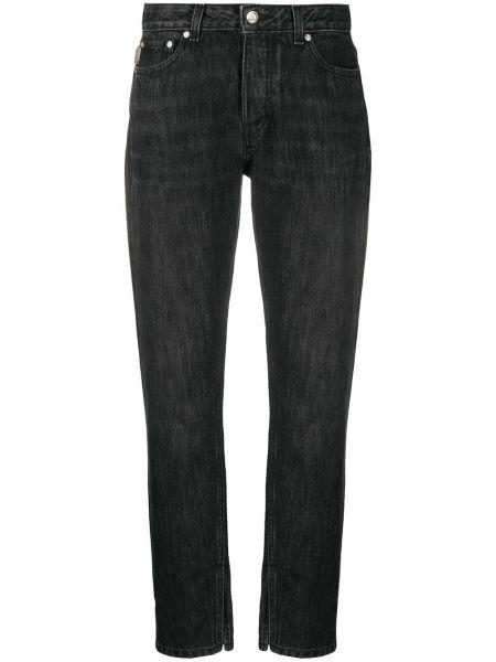 Прямые джинсы классические - черные Ganni