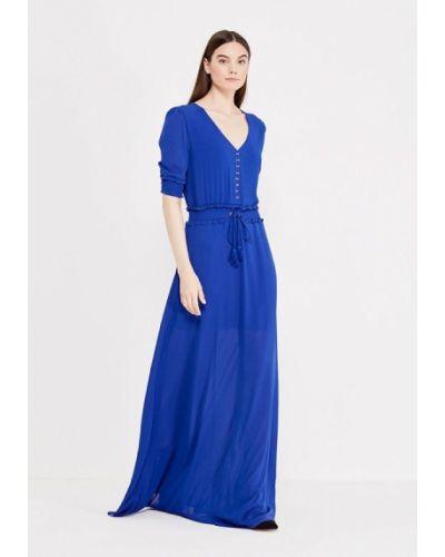 Летнее платье весеннее синее Lost Ink.
