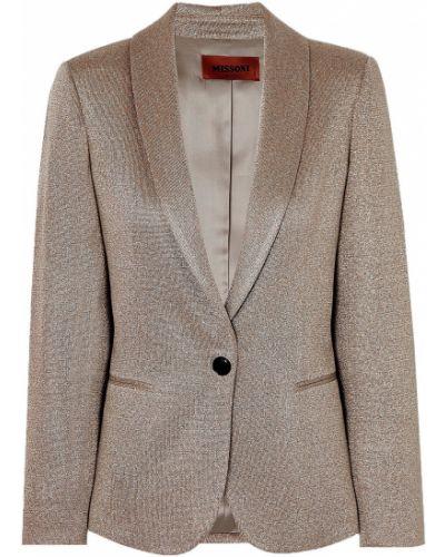 Пиджак с карманами на пуговицах из вискозы Missoni