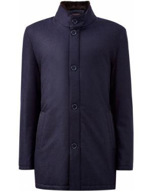 Кожаная куртка деловая Enrico Mandelli