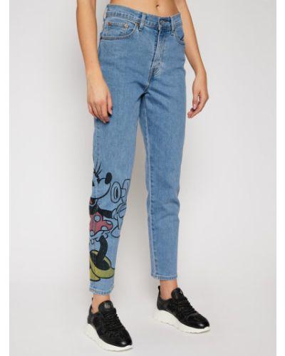 Myszka Miki niebieski jeansy chłopaki Levi's