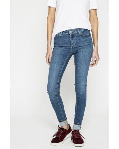 Синие джинсы-скинни Pieces
