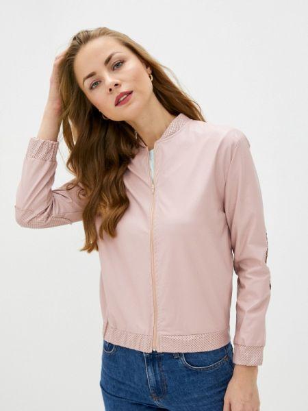 Кожаная розовая кожаная куртка Massimiliano Bini