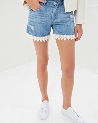 Джинсовые шорты голубой Jacqueline De Yong