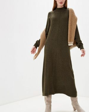 Платье осеннее вязаное B.young