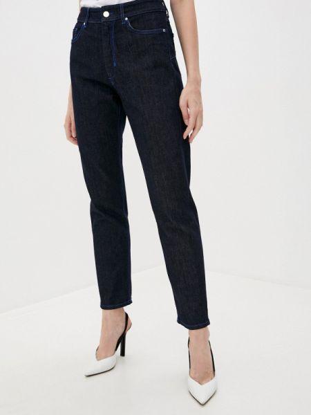 Прямые синие прямые джинсы Sportmax Code
