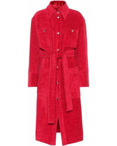 Пальто классическое розовое пальто-тренч Acne Studios