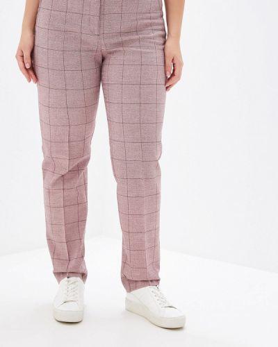 Классические брюки бордовый красный Borboleta